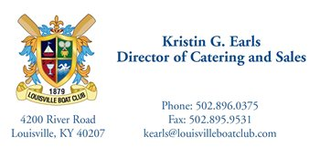 Kristin G. Earls - Director of Catering and Sales